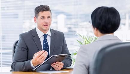 Entrevista con carta de presentación